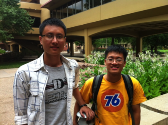 Photo of Dzung and Trung