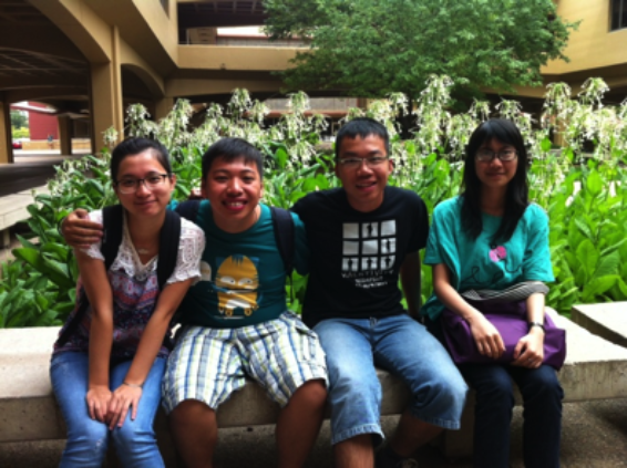 Photo of Van Anh, Viet Anh, Dzung, Thao