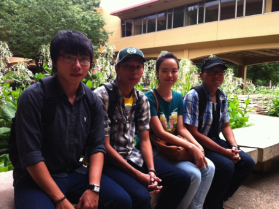 Photo of Hien, Hieu, Nga, Nam