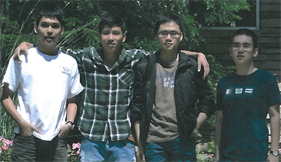Photo of Long, Hoang, Thanh, Khanh
