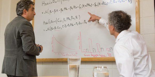 Zahram and Mushinski researching